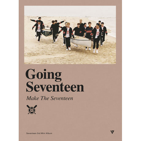 GOING SEVENTEEN [VER C: MAKE THE SEVENTEEN] [미니 3집]