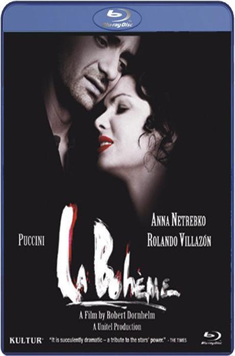 LA BOHEME/ ANNA NETREBKO & ROLANDO VILLAZON [푸치니 오페라 영화: 라 보엠] [블루레이 전용플레이어 사용]