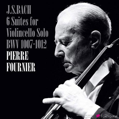 6 SUITES FOR VIOLINCELLO SOLO/ PIERRE FOURNIER [바흐: 무반주 첼로 모음곡 전곡 - 피에르 푸르니에]