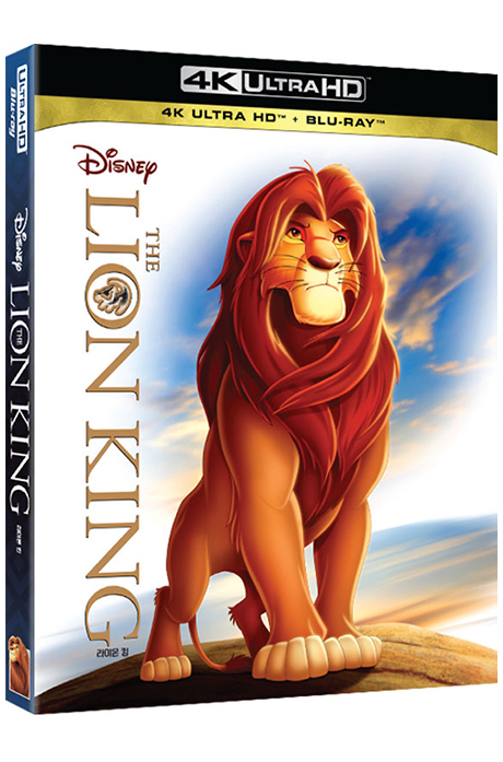라이온 킹 4K UHD+BD [THE LION KING]