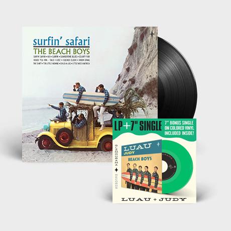 """SURFIN` SAFARI [180G LP+7"""" SINGLE]"""