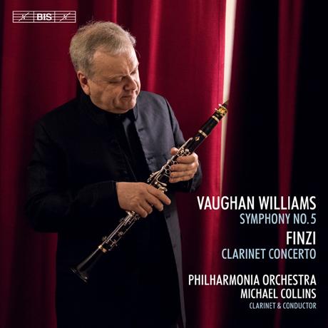 SYMPHONY NO.5 & CLARINET CONCERTO/ MICHAEL COLLINS [SACD HYBRID] [본 윌리엄스: 교향곡 5번 & 핀지: 클라리넷 협주곡 - 마이클 콜린스]