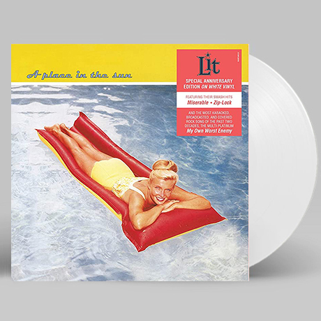 A PLACE IN THE SUN [WHITE LP]