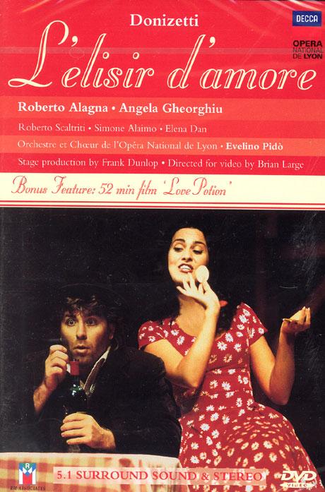 L`ELISIR D`AMORE/ ANGELA GHEORGHIU, ROBERTO ALAGNA