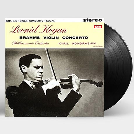 VIOLIN CONCERTO/ LEONID KOGAN, KIRILL KONDRASHIN [브람스: 바이올린 협주곡 - 코간, 콘드라신] [LP]
