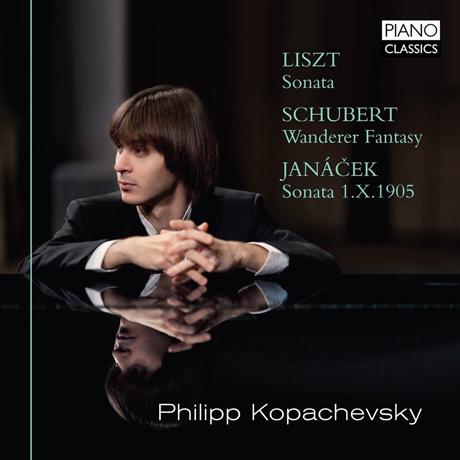 PIANO WORKS/PHILIPP KOPACHEVSKY [리스트, 슈베르트 & 야나첵: 피아노 작품집]