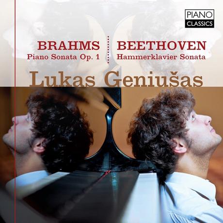 PIANO SONATA OP.1 & HAMMERKLAVIER SONATA/ LUKAS GENIUSAS [브람스: 피아노 소나타 & 베토벤 피아노 소나타