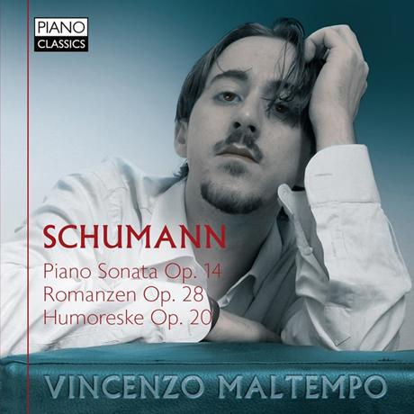 PIANO SONATA, ROMANZEN & HUMORESKE/ VINCENZO MALTEMPO [슈만: 유모레스크 & 피아노 소나타]