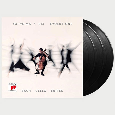 SIX EVOLUTIONS: CELLO SUITES/ YO-YO MA [요요 마: 바흐 무반주 첼로 모음곡] [한정반] [LP]