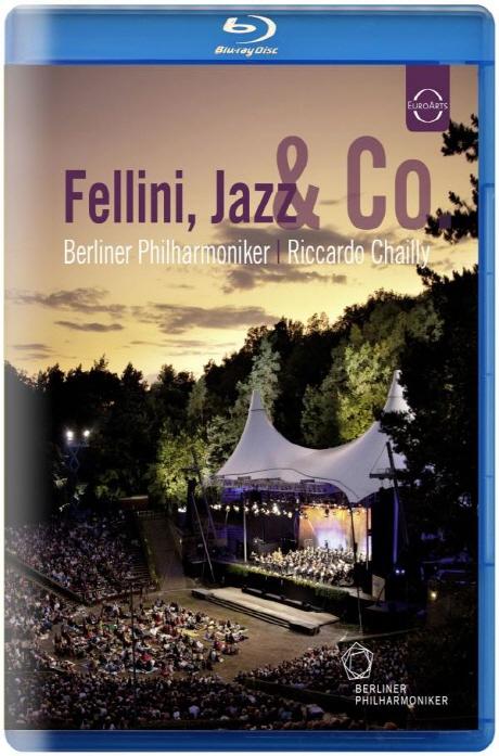 FELLINI, JAZZ & CO/ RICCARDO CHAILLY [2011 베를린필 발트뷔네콘서트] [블루레이 전용플레이어 사용]