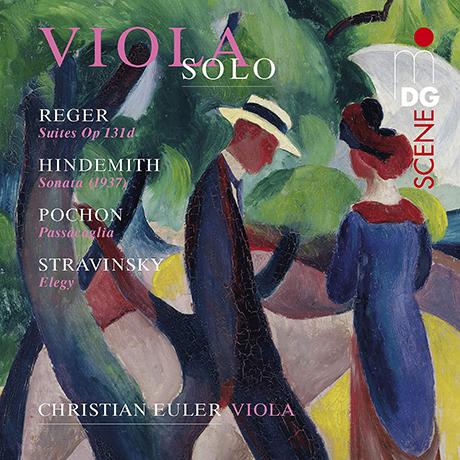 VIOLA SOLO [SACD HYBRID] [레거, 힌데미트, 포숑, 스트라빈스키: 비올라 무반주 독주곡 모음 - 크리스티안 오일러]