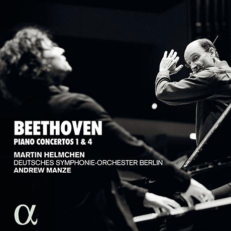 PIANOS CONCERTOS 1 & 4/ MARTIN HELMCHEN, ANDREW MANZE [베토벤: 피아노 협주곡 1, 4번 - 마르틴 헬름헨, 앤드류 맨지]