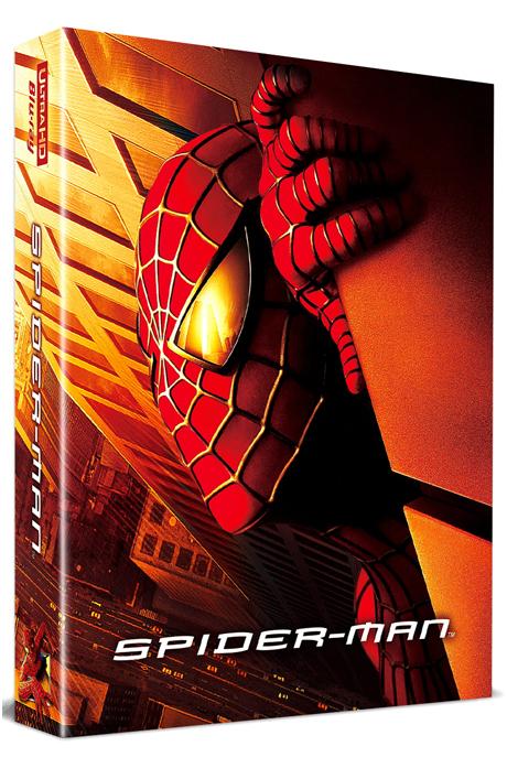 스파이더맨 4K UHD+BD [풀슬립 스틸북 한정판] [SPIDER-MAN]