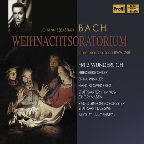 CHIRSTMAS ORATORIO BWV 248/ FRITZ WUNDERLICH
