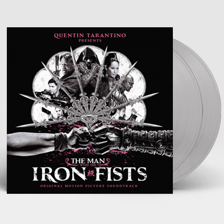 THE MAN WITH THE IRON FISTS [아이언 피스트] [180G SILVER LP]