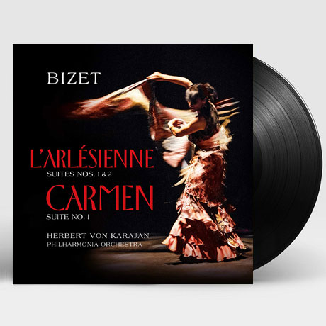 L`ARLESIENNE & CARMEN/ HERBERT VON KARAJAN [비제: 카르멘 & 아를의 여인 - 카라얀] [180G LP]
