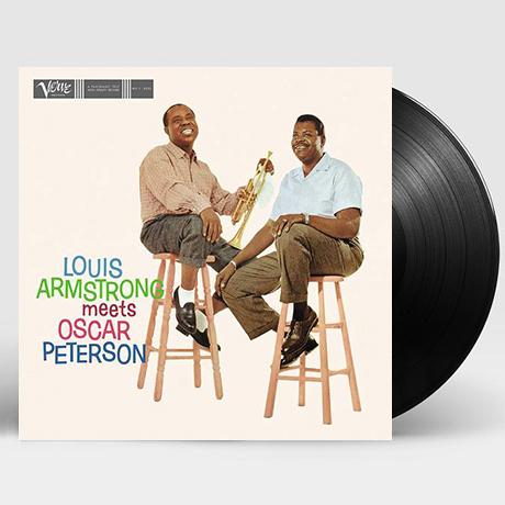 LOUIS ARMSTRONG MEETS OSCAR PETERSON [ACOUSTIC SOUNDS SERIES] [180G LP]