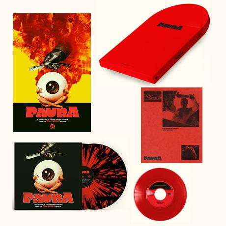 "PAURA: A COLLECTION OF ITALIAN HORROR SOUNDS [이탈리아 공포영화음악] [딜럭스 한정반] [LP+7"" SINGLE]"