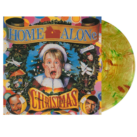 HOME ALONE: CHRISTMAS [나홀로 집에: 크리스마스] [CLEAR WITH RED AND GREEN SWIRL] [LP]