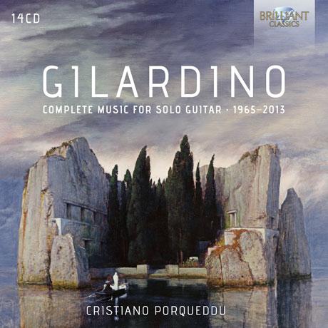COMPLETE MUSIC FOR SOLO GUITAR 1965-2013/ CRISTIANO PORQUEDDU [질라르디노: 솔로 기타 작품 전집 1965-2013]
