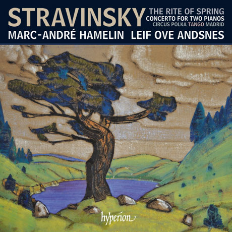 TH RITE OF SPRING, CONCERTO FOR TWO PIANOS/ MARC-ANDRE HAMELIN, LEIF OVE ANDSNES [스트라빈스키: 봄의 제전, 2대의 피아노를 위한 작품집 - 아믈랭 & 안스네스]