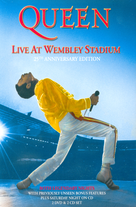 LIVE AT WEMBLEY STADIUM: 25TH ANNIVERSARY EDITION [2DVD+2CD] [퀸: 웬블리 라이브 디럭스]
