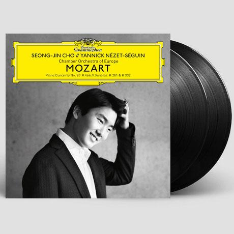 MOZART PIANO CONCERTO NO.20 & SONATAS K.281, 332/ YANNICK NEZET-SEGUIN [모차르트: 피아노 협주곡 20번, 소나타 3 & 4번] [180G LP]