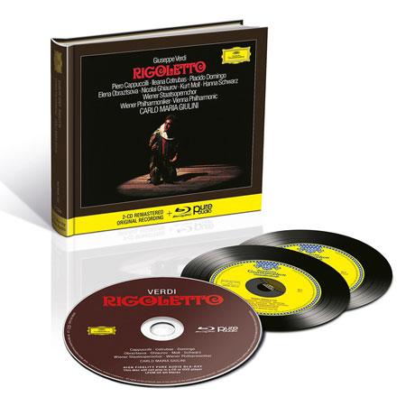 RIGOLETTO/ CARLO MARIA GIULINI [2CD+BDA] [베르디: 리골레토 - 아바도]