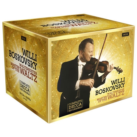COMPLETE DECCA RECORDINGS: MASTER OF THE WALTZ [50CD+2DVD] [빌리 보스코프스키: 데카 전집] [한정반]
