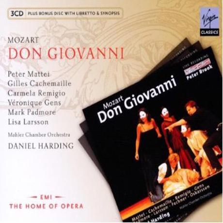 DON GIOVANNI/ DANIEL HARDING [BONUS CD] [모차르트: 돈 지오바니]