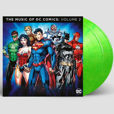 THE MUSIC OF THE DC COMICS VOLUME 2 [DC 코믹스 컴필레이션 2집] [180G LIME-GREEN LP] [한정반]