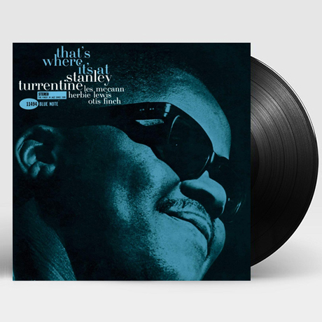 THAT`S WHERE IT`S AT [BLUE NOTE TONE POET SERIES] [180G LP] [한정반]