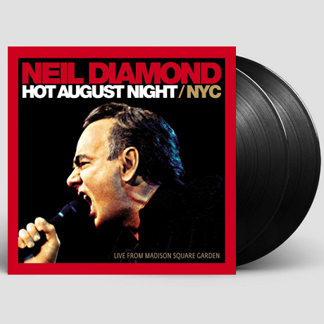 HOT AUGUST NIGHT: NYC LIVE FROM MADISON SQUARE GARDEN [LP]