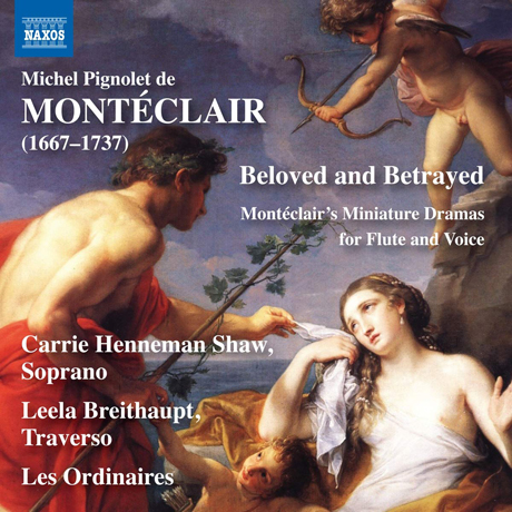 BELOVED AND BETRAYED: MINIATURE DRAMAS FOR FLUTE & VOICE/ LES ORDINAIRES, LEELA BREITHAUPT [몽테클레르: 연인과 배신자]