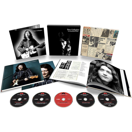 RORY GALLAGHER [4CD+DVD] [50TH ANNIVERSARY]