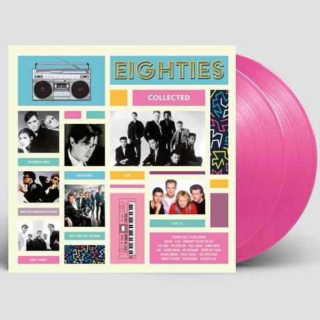 EIGHTIES COLLECTED [180G CLEAR MAGENTA LP]