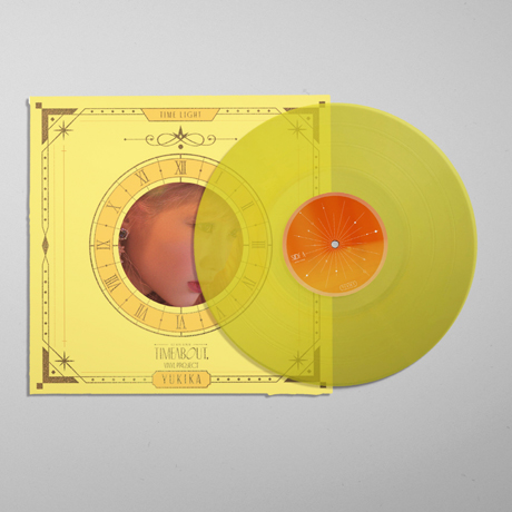 TIMEABOUT [TIME LIGHT VER] [140G CLEAR YELLOW LP]