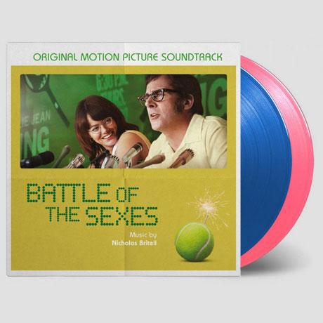 BATTLE OF THE SEXES [180G BLUE & PINK LP] [빌리 진 킹: 세기의 대결] [한정반]