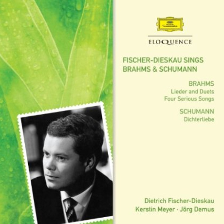 LIEDER AND DUETS FOUR SERIOUS SONGS/ DIETRICH FISCHER-DIESKAU, JORG DEMUS