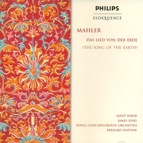 THE SONG OF THE EARTH/ JANET BAKER, BERNARD HAITINK