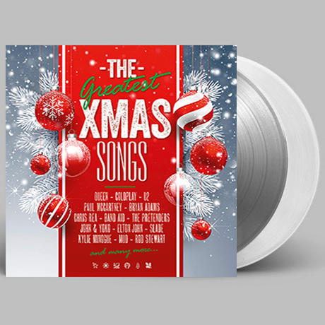 THE GREATEST X-MAS SONGS [WHITE & SILVER] [180G LP] [한정반]