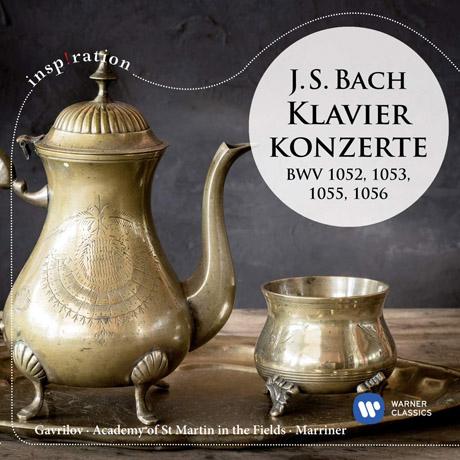 PIANO CONCERTO BWV 1052, 1053, 1055, 1056/ ANDREI GAVRILOV, NEVILLE MARRINER [INSPIRATION] [바흐: 피아노 협주곡 - 가브릴로프, 매리너]