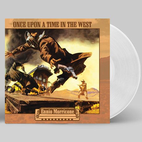 C`ERA UNA VOLTA IL WEST - ONCE UPON A TIME IN THE WEST [원스 어폰 어 타임 인 웨스트] [CLEAR LP]