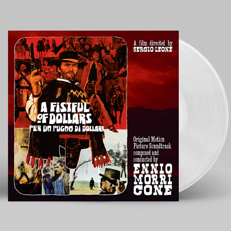 PER UN PUGNO DI DOLLARI - A FISTFUL OF DOLLARS [황야의 무법자] [CLEAR LP+POSTER] [한정반]