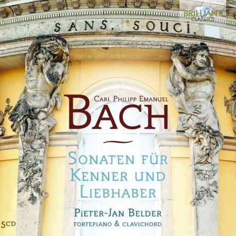 SONATEN FUR KENNER UND LIEBHABER/ PIETER-JAN BELDER