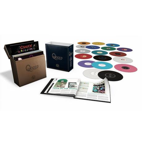 COMPLETE STUDIO ALBUM VINYL COLLECTION [180G COLOURED LP]
