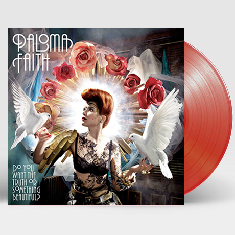 DO YOU WANT THE TRUTH OR SOMETHING BEAUTIFUL? [CLEAR RED LP]