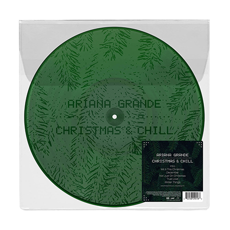 CHRISTMAS & CHILL [DARK GREEN WITH ETCHING] [LP]
