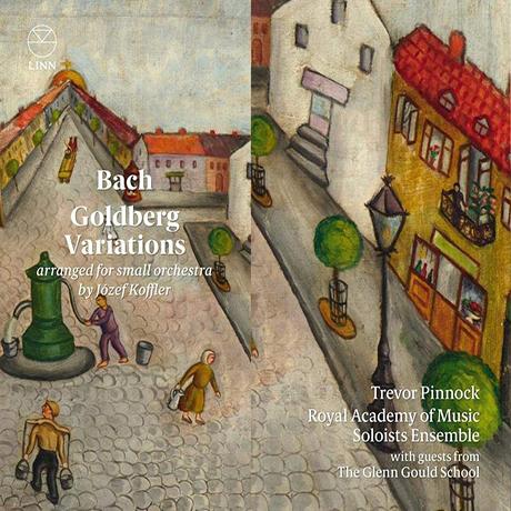 GOLDBERG VARIATIONS/ TREVOR PINNOCK [바흐: 골드베르크 변주곡(소편성 오케스트라 편곡 버전) - 트레버 피녹]