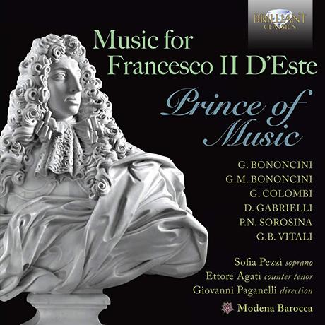 MUSIC FOR FRANCESCO 2 D`ESTE: PRINCE OF MUSIC/ MODENA BAROCCA [에스테의 프란체스코 2세를 위한 음악 - 모데나 바로카]